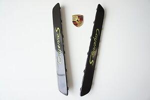 Porsche 958 Cayenne Entry Sill Panel Set Carbon 95804480016