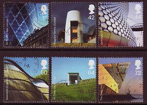 Gran Bretaña 2006 Moderno Arquitectura Fino Usado