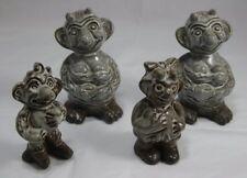 Set of 4 Vintage Michael Andersen Trolls
