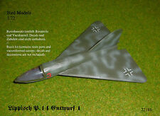 Lippisch P.14 Entwurf 1    1/72 Bird Models Resinbausatz / resin kit