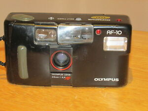 Olympus AF-10 35mm Compact Film Camera - Fully Working - Good Condition