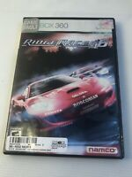 Ridge Racer 6 Microsoft Xbox 360 CIB Complete in Box Case+Manual+disc Video Game