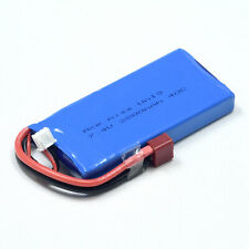 7.4V 2S 2800mAh 40C LiPO Battery T plug Burst 80C RC Model Lipolymer Power Pack