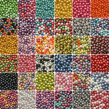 25g 50g 100g 200g 3mm EDIBLE SUGAR GLIMMER PEARLS BALLS Cupcake Cake Sprinkles