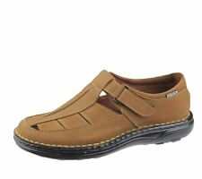 Mens Wide Fit Sandals Casual Beach Fashion Casual Walking Leather Shoes