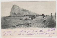 Gibraltar postcard - Rock from Neutral Ground - P/U