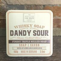 Dandy Sour Whisky Soap-Scottish Fine Soaps-Men's Luxury Triple Milled 3.5 oz