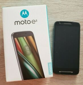 Moto e3 Xt 1700 unlocked Great condition black 8gb