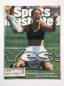 Sports Illustrated Magazine (July 19, 1999) (Brandi Chastain, US Womens Soccer)