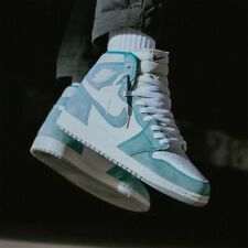 new style 7da10 55eb2 Authentic New Mens Nike Air Jordan 1 Retro High Turbo OG Green Size 14 RARE  AJ1