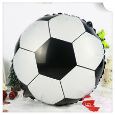 Large Football Soccer ball Foil Balloon Sport Party Fun 44cm Round Grand Final