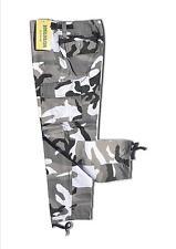Pantalon Treillis Enfant Camouflage Urban Blanc 4 ans