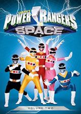 Power Rangers in Space Volume 2 Vol. Region 1 DVD (3 Discs)