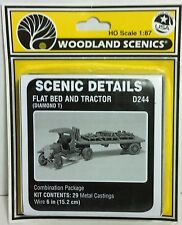 HO/HOn3 Scale Woodland Scenics 'Diamond T Truck & Flat Bed' KIT, Item #D244