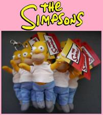 Homer Simpson The Simpsons Stuffed Plush Toy Key Ring Keychain 125mm BRAND NEW