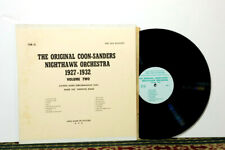 Coon-Sanders Original Nighthawk Orchestra ‎– Volume Two (1927-1932) LP 1974, NM