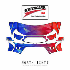 Toyota Tacoma 2012-2015 PreCut 3M Scotchgard Paint Protection Clear Bra Kit
