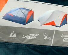 New Kelty All Inn 3 Season 3 Person Lightweight Backpacking Camping Tent NEW