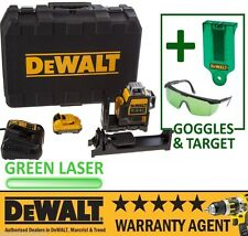 DeWalt DCE089D1G 10.8v 2.0Ah Li-Ion Self Level Multi Line Laser Green + Acc NEW