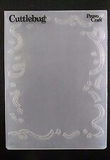 Cuttlebug LARGE Embossing Folder DECORATIVE FRAME fits Sizzix Big Shot & Wizard