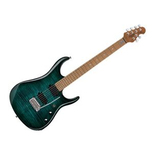 Sterling by Music Man JP150FM-TL  Electric Guitar - Flame Top Teal
