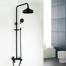 Shower Faucet Set Hand Spray Bathrooms Waterfall Mixer Tap Faucets Wall Mounted