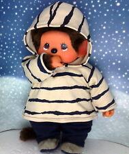 Kleidung,3Tlg Hoodie,Hose und Schuhe passend für MONCHHICHI Monchichi 45 cm Neu