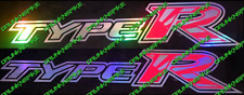 Honda Civic Type R fn2 fk2 fk8 VTEC Rising Sun Oil Slick Côté Jupe stickers