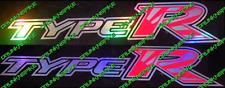 Honda Civic Type R fn2 fk2 fk8 Vtec Rising Sun Oil Slick Side skirt Stickers