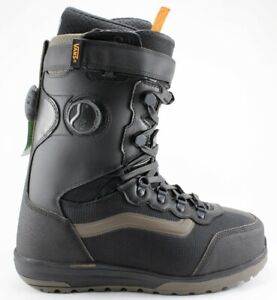 Vans Infuse Hyrbid Boa Snowboard Boots, Mens Size 10, Black/Canteen New 2021
