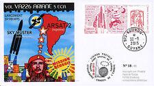 "VA226L-T1 FDC KOUROU ""ARIANE 5 Vol 226 SKY MUSTER & ARSAT-2 / Che Guevara"" 2015"