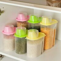 Sealed Cans Plastic Food Storage Grain Container Kitchen Accessories Organizador