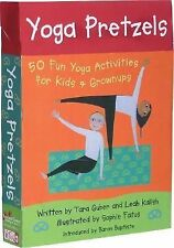 Yoga Pretzels : 50 Fun Yoga Activities for Kids and Grownups by Leah Kalish,...