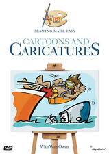 Drawing Made Easy - Cartoons & Caricatures DVD