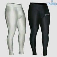 Men's Thermal Compression Running Workout Stretchable Tights Trousers Pants