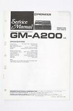 Pioneer GM-A200 Ew Car Amplifier Service Manual/Wiring Diagram/Diagram o97