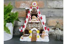 Christmas Fairy Elf Gingerbread House Decoration