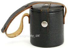 Leather Lens Case 65 x 68mm for ZEISS Pancolar 1.8/50mm BIOTAR Flektogon 2.4/35