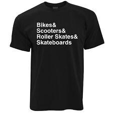 Camiseta de destrucción de la lista de deportes extremos equiptment Skate Park