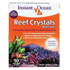 Instant Ocean Reef Crystals Reef Salt 2.8 Pounds, Formulated Specifically For
