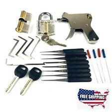 New 22Pc Lock Picking Tools Kit Tip Lock Opener Strong Stainless Steel Extractor