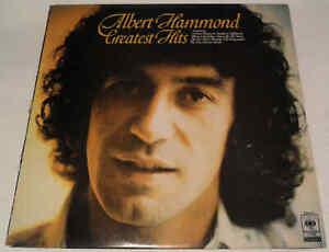 Albert Hammond Greatest Hits 1978 S CBS 31643 Vinyl LP Album