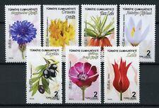 Turkey 2018 MNH Flora Flowers 7v Set Nature Stamps