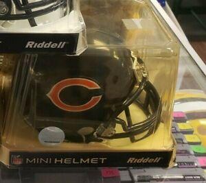 (1) NIB NFL STANDARD CHICAGO BEARS RIDDELL SPORTS MINI FOOTBALL HELMET VSR4