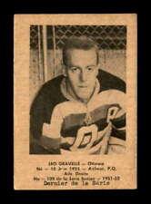 1951 Laval Dairy QSHL #109 Leo Gravelle  G X1810712