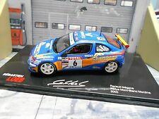 RENAULT Megane Maxi Kitcar Rallye Mont Blanc 2000 #6 Loeb Loeb IXO Altaya 1:43