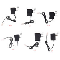 DC 4.8V-12V RC Battery Pack Wall Charger Adapter For Remote Control Car Q EV