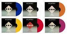 Paul McCartney III LP 6 Colours Vinyl Sealed Red White Yellow Orange Blue Violet