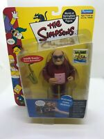 """Playmates THE SIMPSONS """"BLEEDING GUMS MURPHY"""" (Figure, 2000, 5in) NEW"""