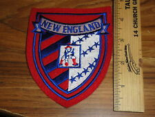 OLD SCHOOL NEW ENGLAND PATRIOTS 5 INCH  PATCH